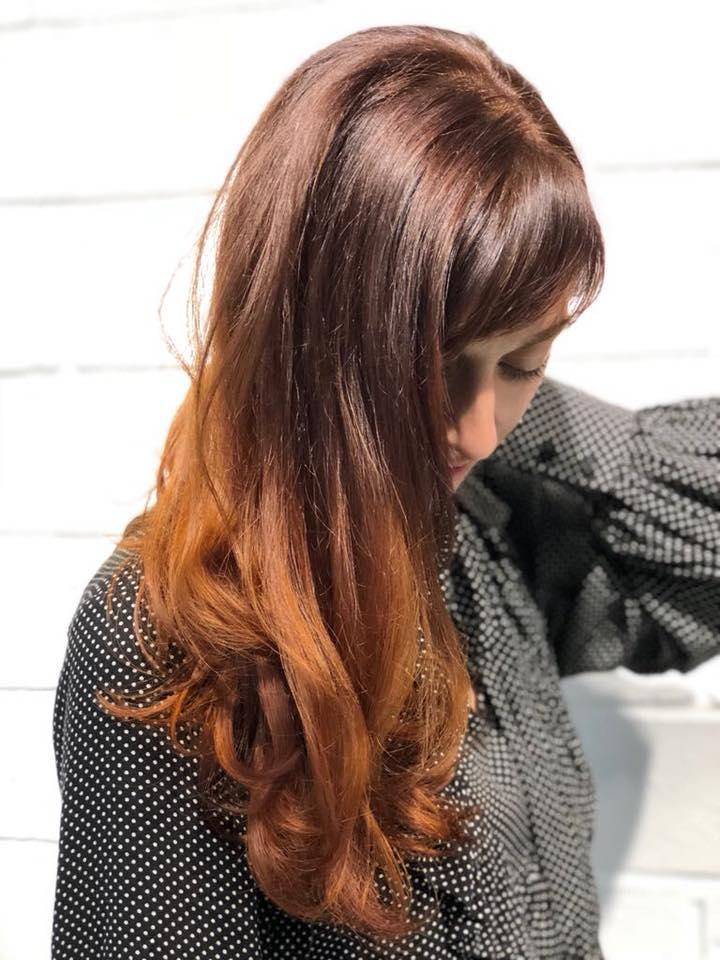 Cliente Marina con il nuovo colore capelli