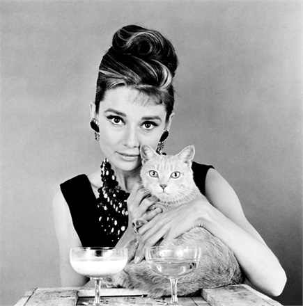 BREAKFAST AT TIFFANYS, Audrey Hepburn, 1961